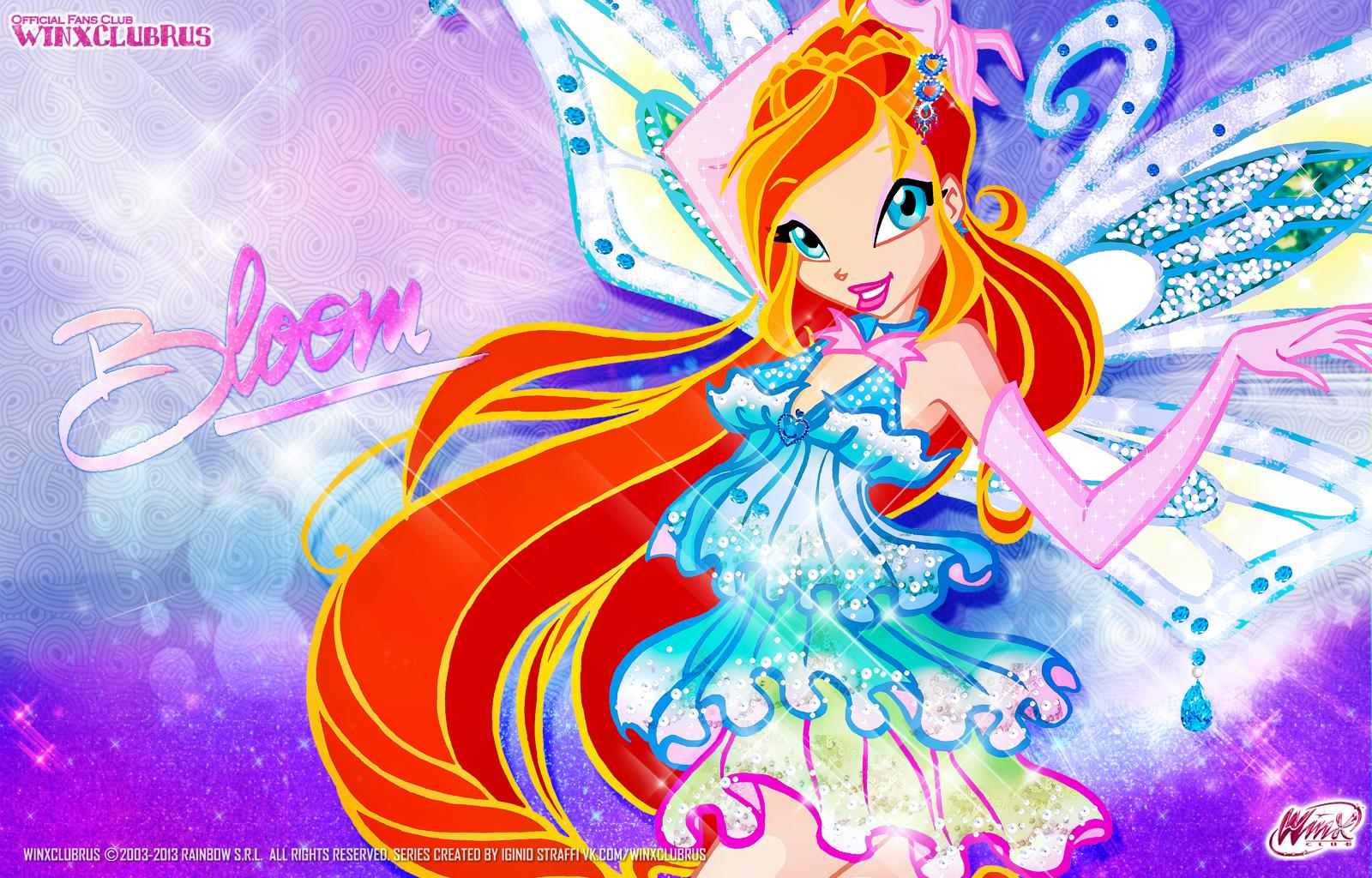 Fondo de pantalla bloom enchantix 2d winx club all - Winx club bloom enchantix ...