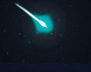 Tahi Bintang Komet Lintas Bumi