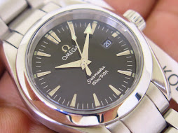 OMEGA SEAMASTER 150m AQUA TERRA LADY WATCH - QUARTZ