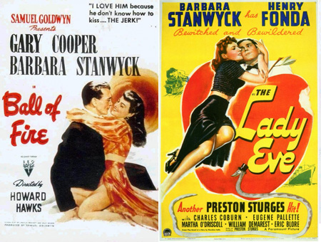 the cinematic spectacle ball of fire 1941 vs the lady