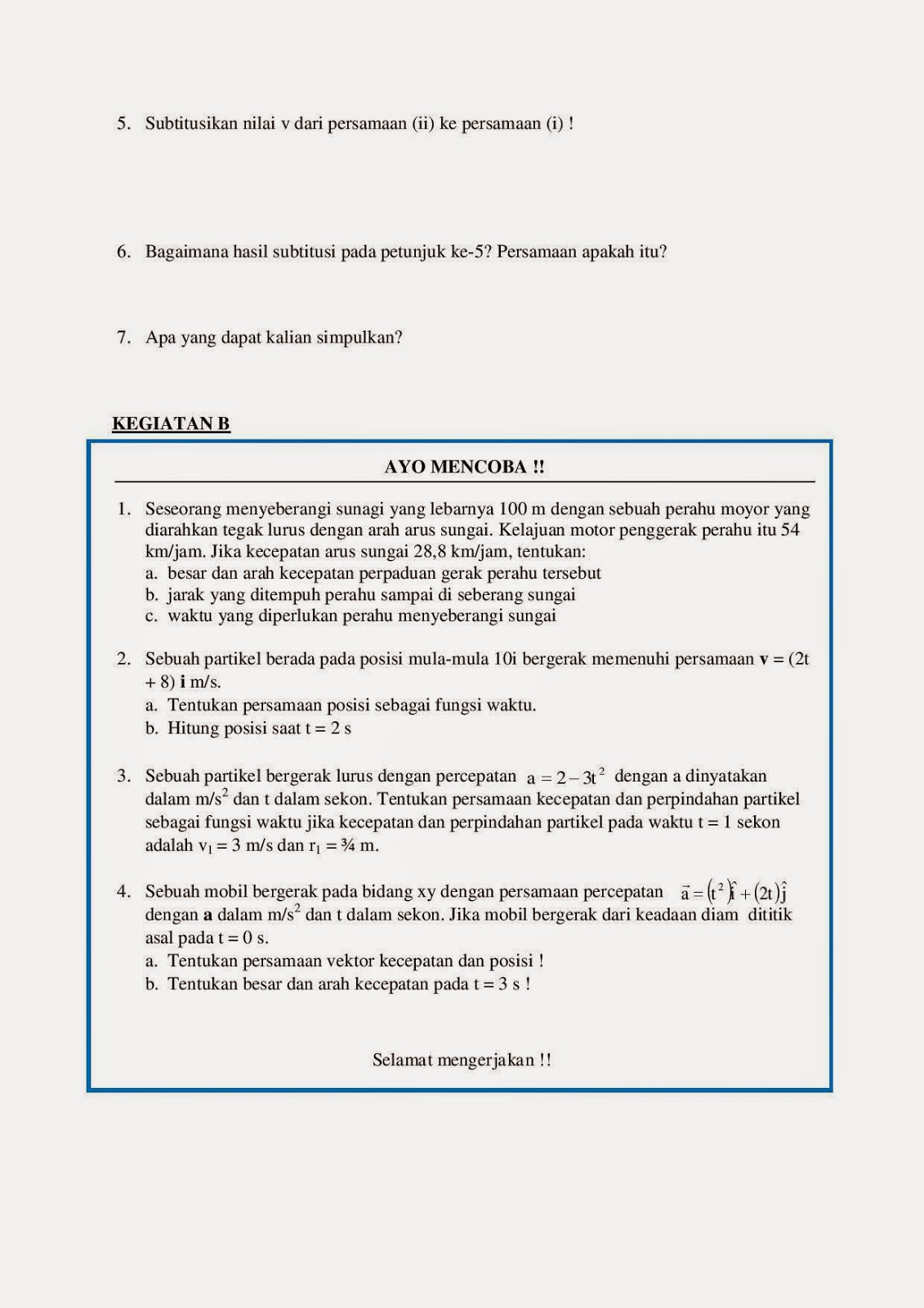 Kunci Jawaban Lks Fisika Kelas X Intan Pariwara Semester 1