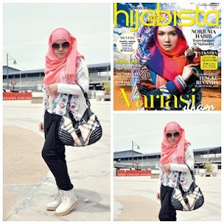Featured in Hijabista Oktober 2012