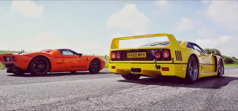 【動画】世界最高レベルのスーパーカーを使った壮大なドラッグレース!
