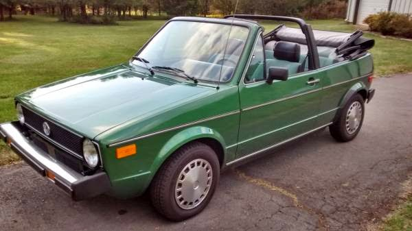 1981 vw rabbit convertible for sale buy classic volks. Black Bedroom Furniture Sets. Home Design Ideas