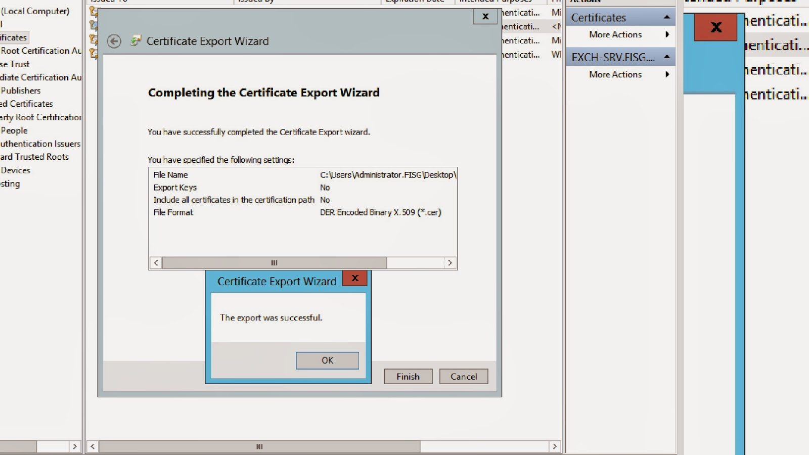 Fisg florida it server group deploying an internal pki for you now have a certificate for your azure recovery services vault in the azure platform 1betcityfo Image collections