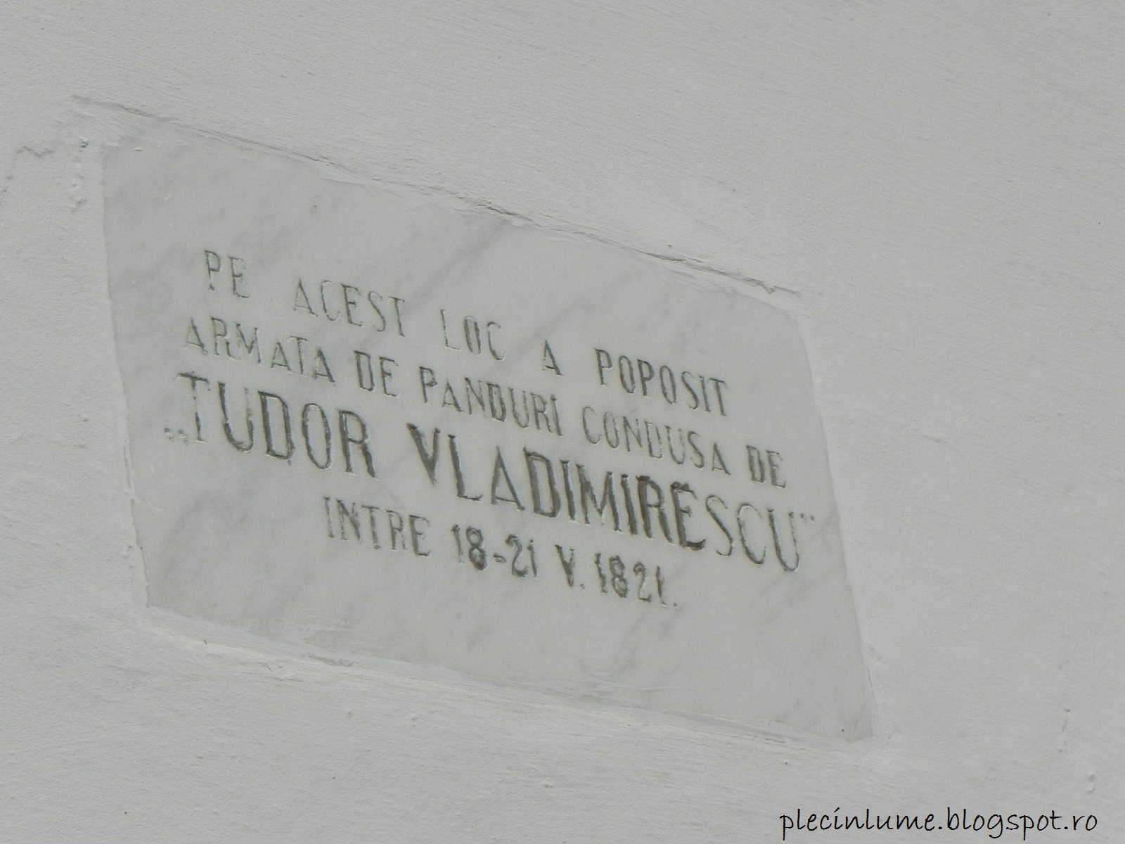 Tudor Vladimirescu la Golesti