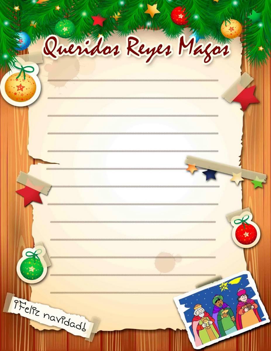 Worksheet. Carta a los Reyes Magos para imprimir  Trato o truco