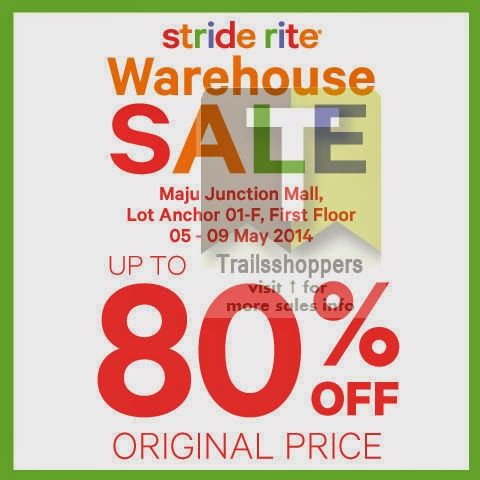 Stride Rite Warehouse Sale at  Maju Junction Mall