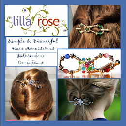 Simple and Elegant Lilla Rose Hair Accessories