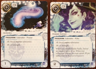 Icebreakers from the Android Netrunner card game
