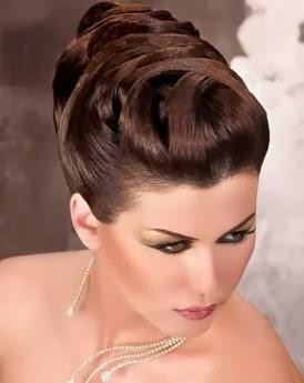 Modele de chignon de mariage k 2017 - Modele coiffure mariage ...
