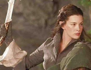Arwen Evenstar in Peter Jackson's Lord of the Rings