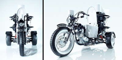 Toilet Powered Motorcycle