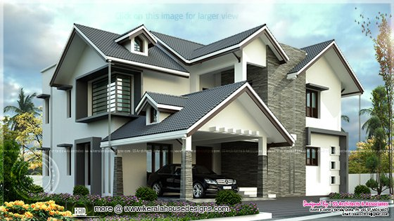 Modern villa 2597 sq-ft