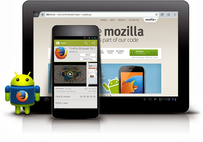 Download Mozilla Firefox 28.0 for Android