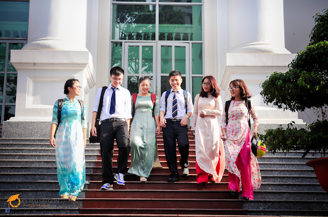 Ảnh kỷ yếu đẹp HCM - Đại học Sài Gòn