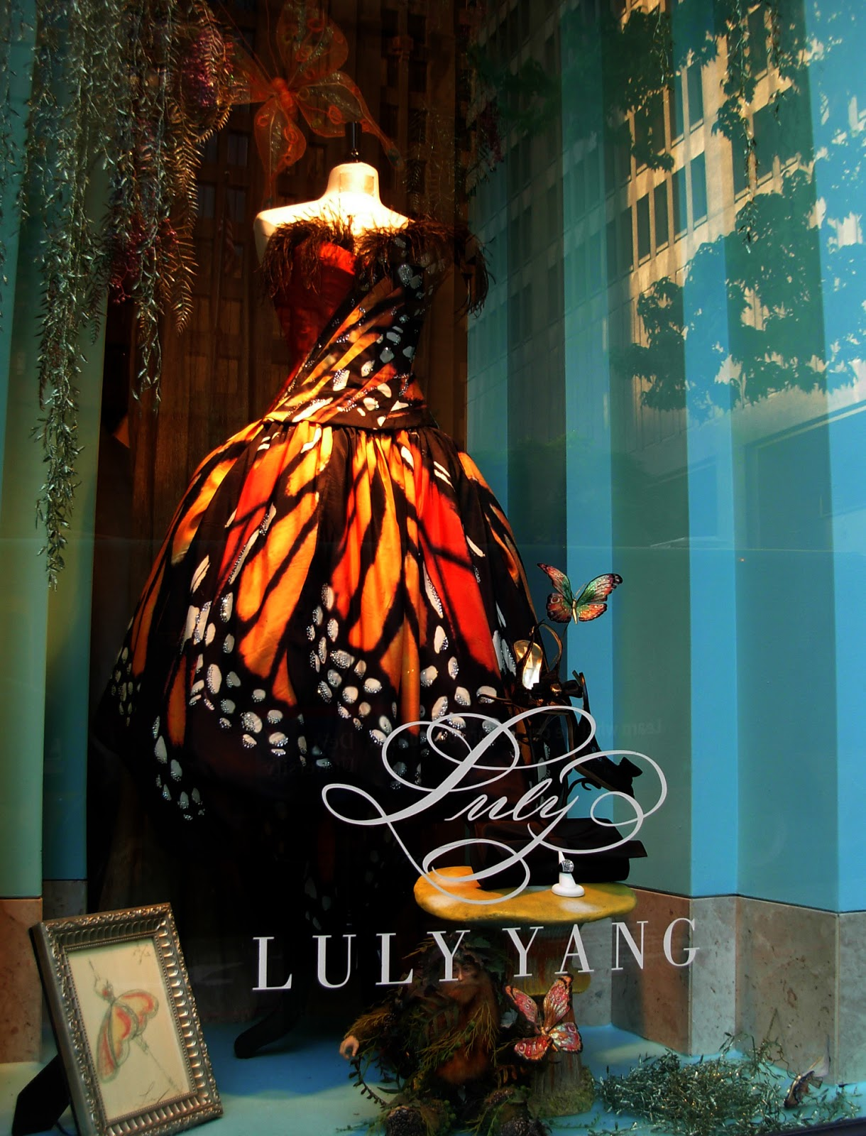 Butterfly Dress by Luly Yang