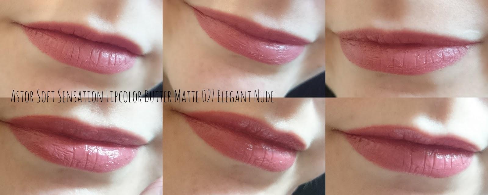 Astor Soft Sensation Lipcolor Butter Matte 027 Elegant Nude
