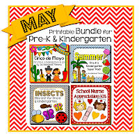 Cinco de Mayo summer beach insects bugs school nurse appreciation preschool pre-k kindergarten teachers pay