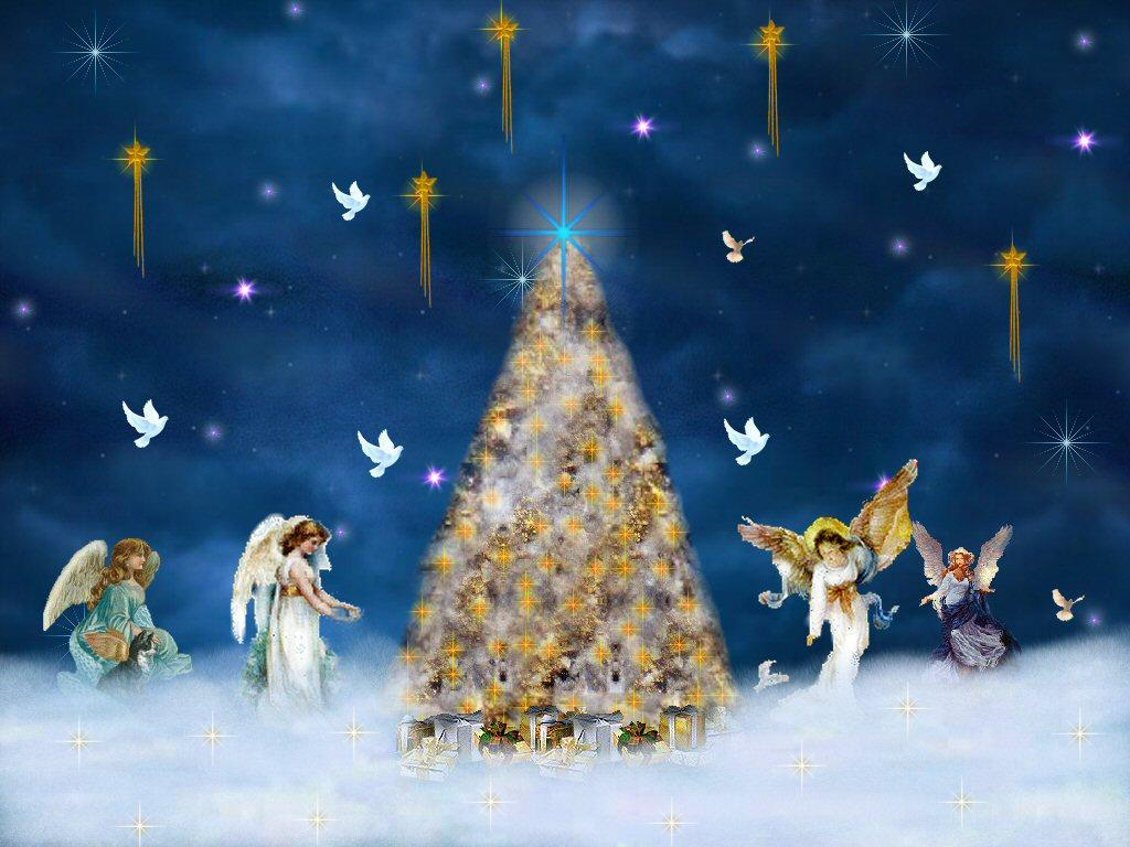 Bards and tales legend of christmas angels for Christmas angels