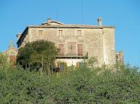 El Castell de Savassona, vist des de llevant