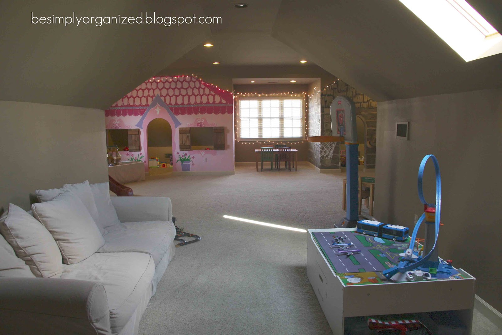 Kids Playroom With Tv