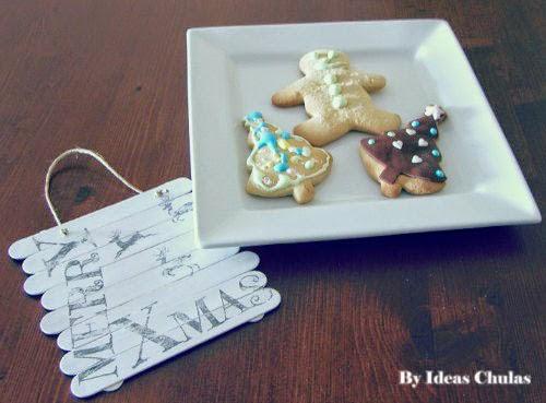 Presentación galletas decoradas con fondant y glasa
