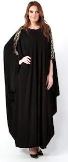 Abaya in Khaleeji Style
