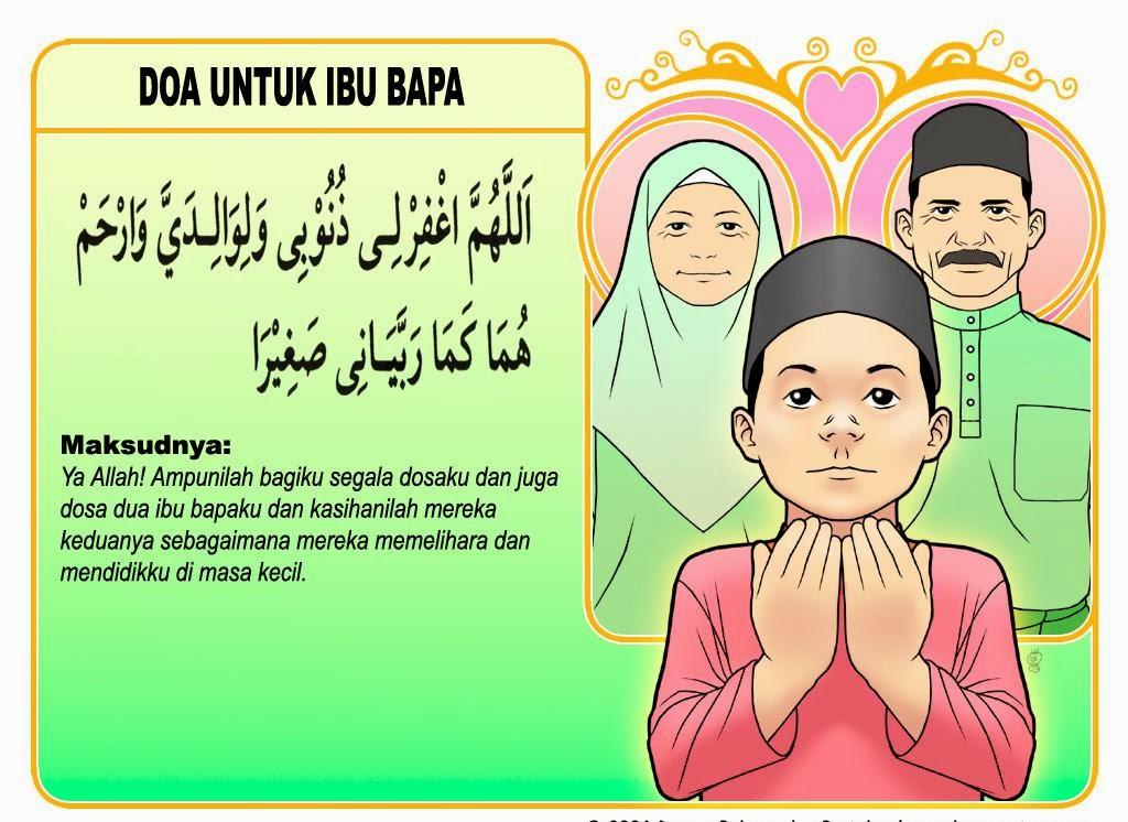Doa untuk ibu bapa, jasa ibu bapa