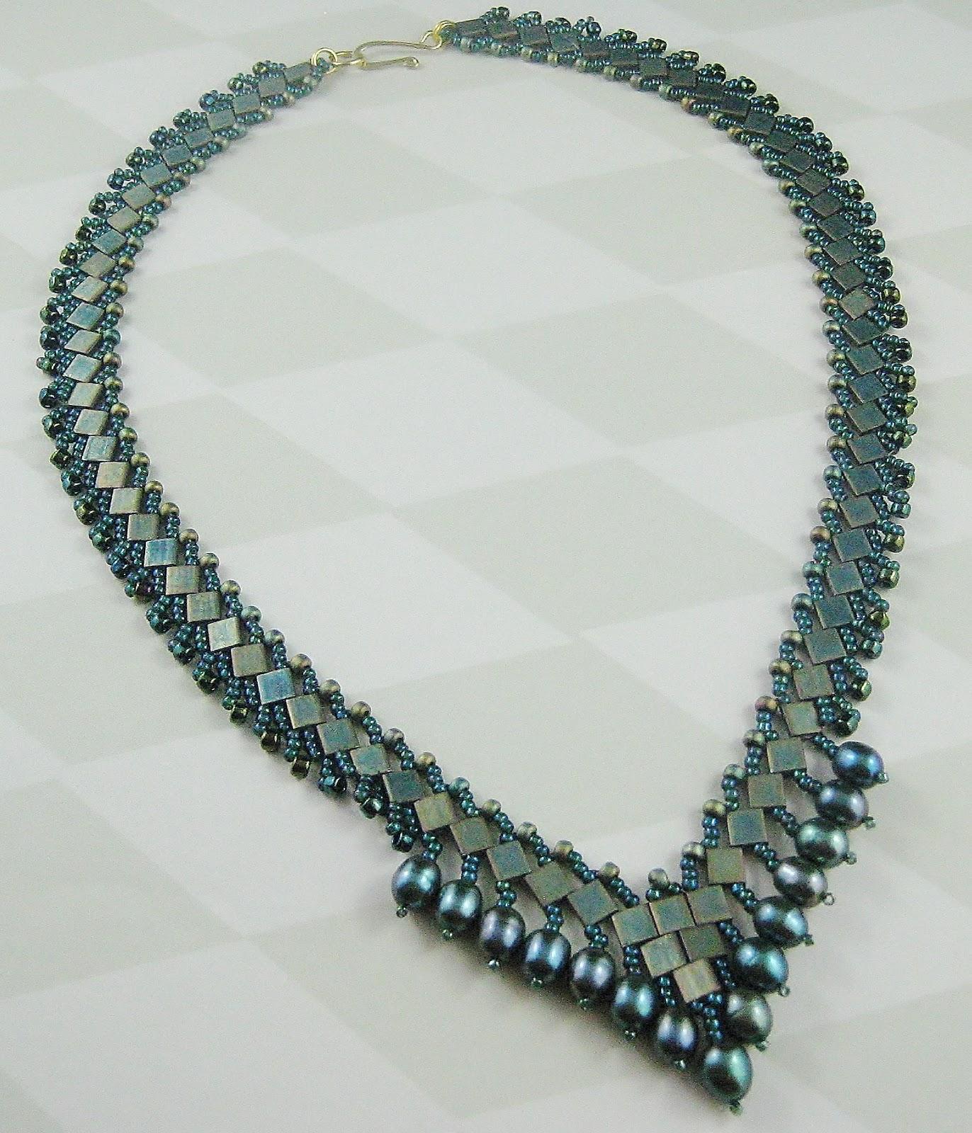 rosemaryb jewellery tila bead necklace