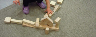 Loose Parts - in the Block Area