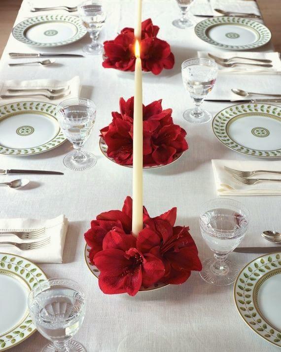Natal decoração de mesa