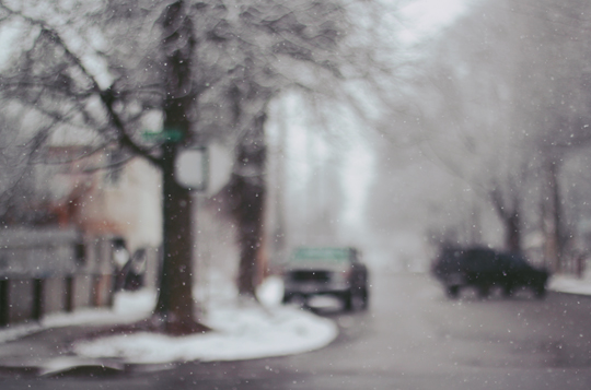 Sandpoint Idaho winter streets || Chestnut Mocha Blog