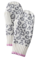 Style Athletics Holiday Gift Guide for Athletes Athletic Girls Leopard SNow Mittens
