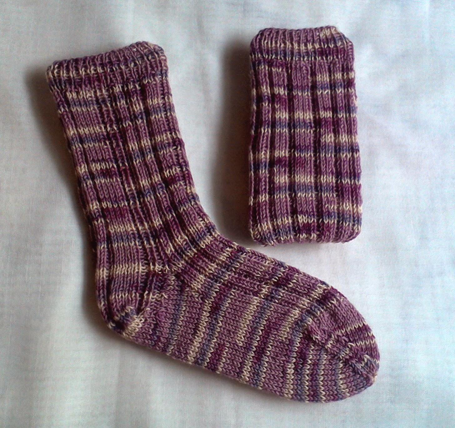 kostenlose Anleitung Socken