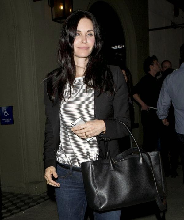 courteney cox sin maquillaje
