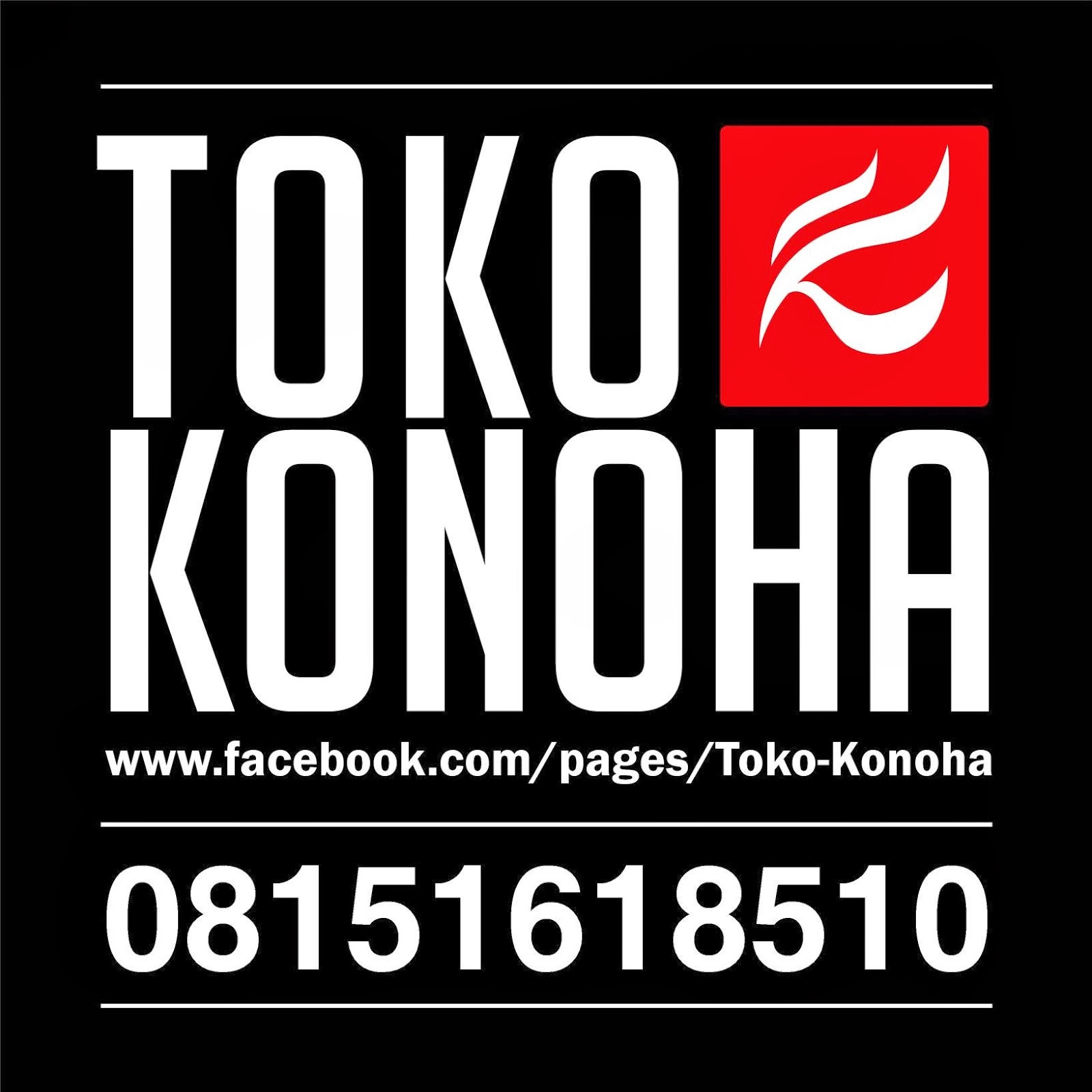 TOKO KONOHA ON FACEBOOK