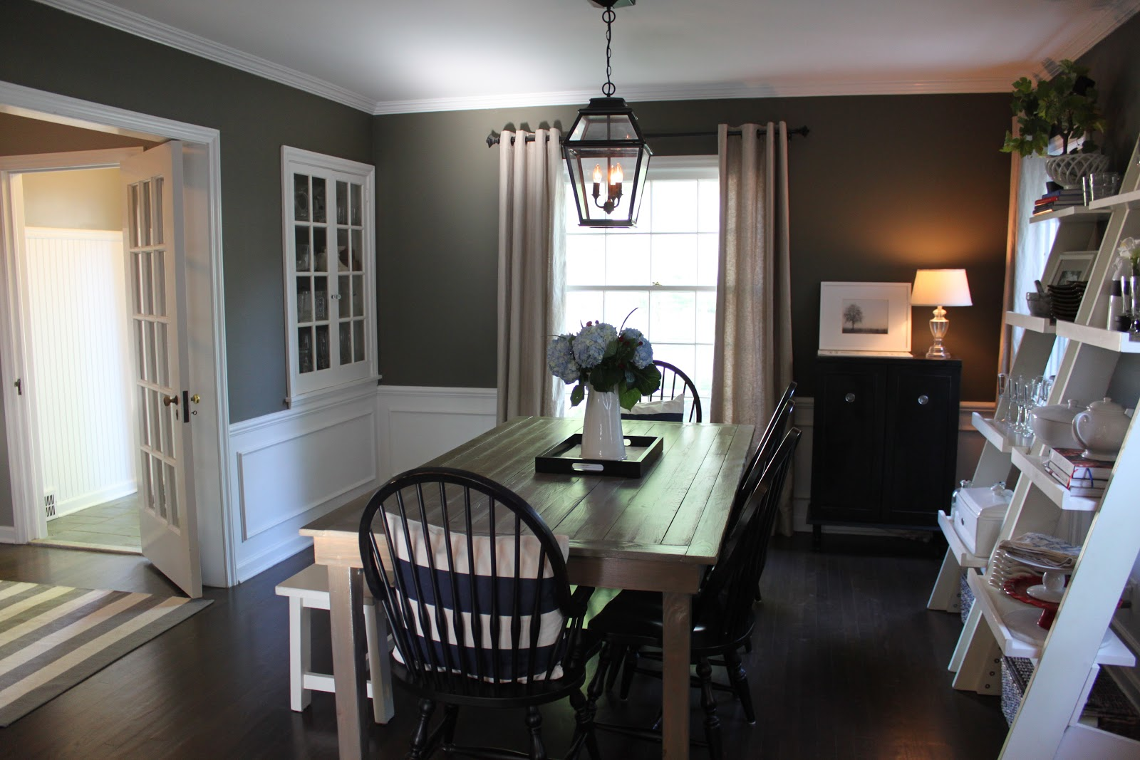 The fat hydrangea paint colors for Dining room ideas with gray walls