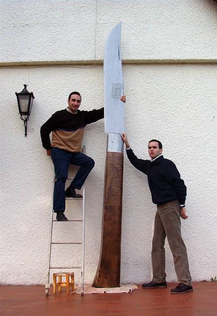 guiness world records , largest knife , pocket knife , world , portugal , unbelievable , tapandaola111