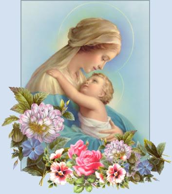Virgen María con el niño Jesús