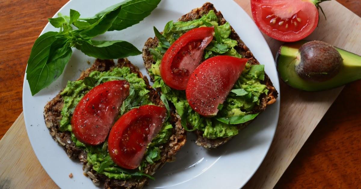 Nourish The Roots: Tomato Basil Avocado Toast