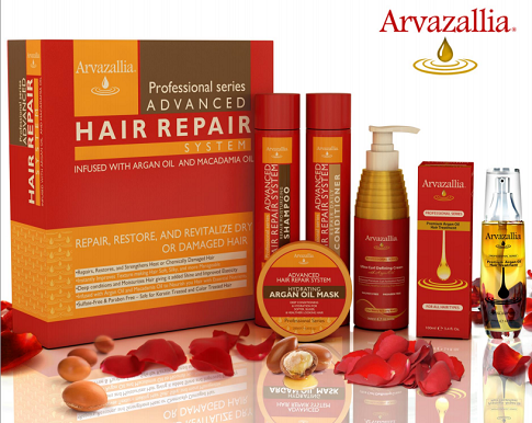 Arvazallia ARGAN OIL PRODUCT LINE