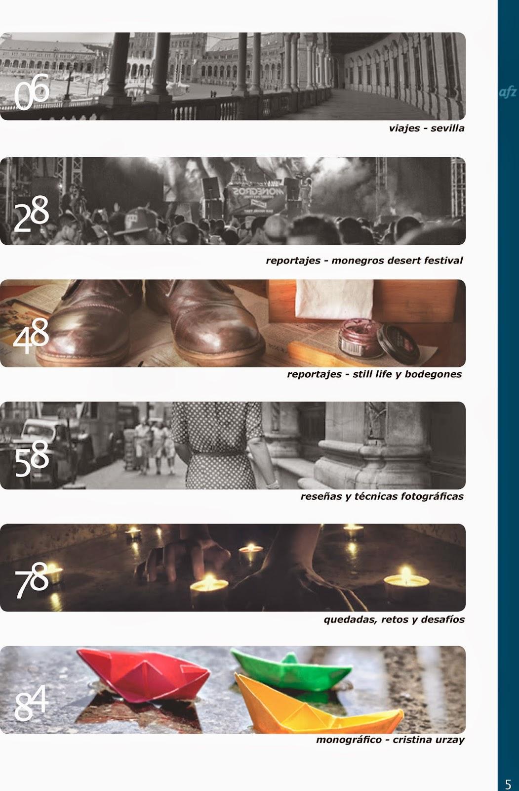 Numero 11 revista eléctronica Fotógrafos de Zaragoza AFZ