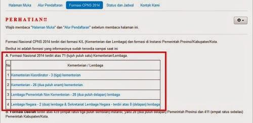 Tutorial Cara Daftar CPNS online 2014