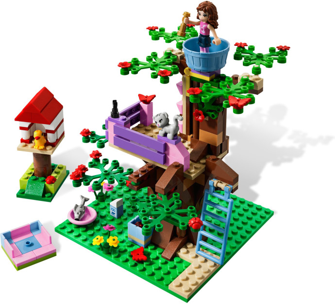 Brick Friends Lego Friends 3065 Olivias Tree House