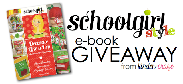 Enter to WIN a copy of the new e-book from Schoolgirl Style!