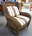 Ethan Allen Wicker Chair