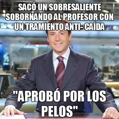 Memes: Matías Prats, periodismo de humor