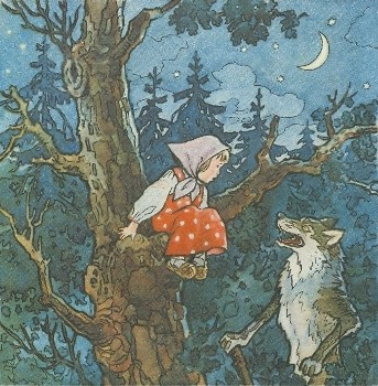 The girl and the fox Russian folk tale 1968