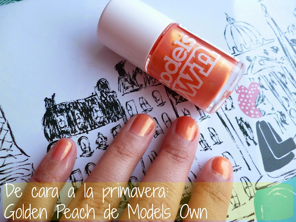 De cara a la primavera: Golden Peach de Models Own